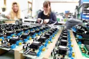 Serienfertigung elektronischer Baugruppen