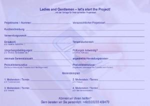 Projektstarthilfe Elektronikentwicklung